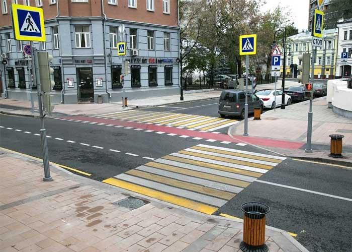 Обязанности пешехода при переходе пешеходного перехода