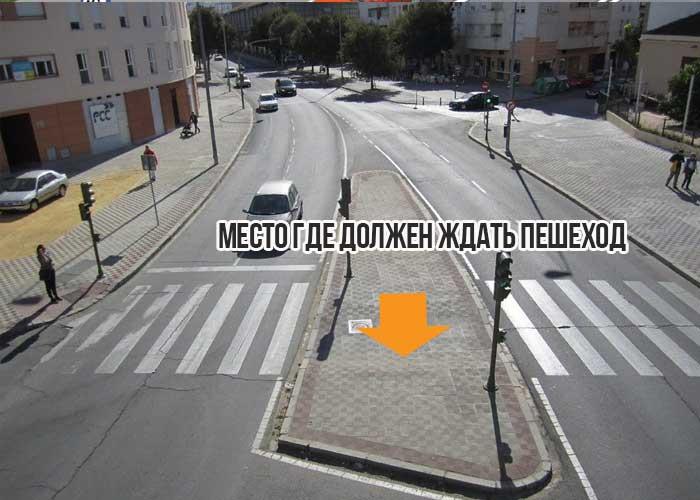 Обязанности пешехода при переходе пешеходного перехода пдд
