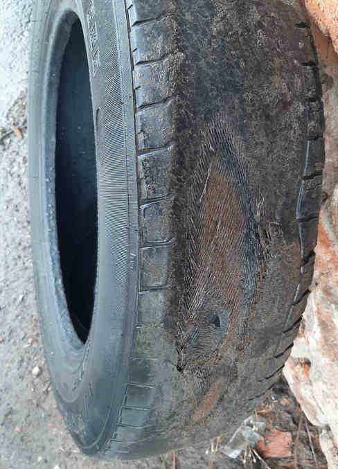 Предельный износ рисунка протектора шин
