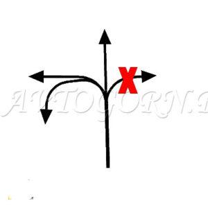 Проезд разрешен прямо налево и в обратном направлнении