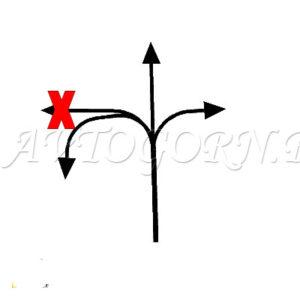 Можно проехать прямо, направо, и в обратном направлении