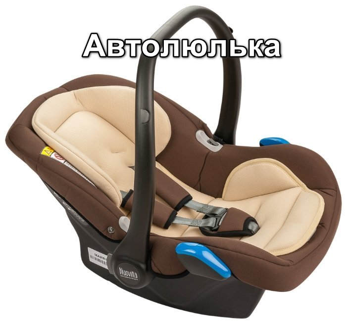 Правила перевоза детей в автомобиле автолюлька