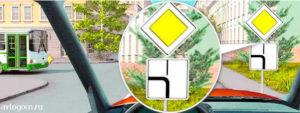 Билет №1 - Вопрос №15. Можно ли водителю легкового автомобиля выполнить опережение грузовых автомобилей вне населенного пункта по такой траектории?
