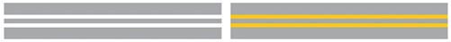 Двойная сплошная жёлтая разметка на дороге - что обозначает по ПДД